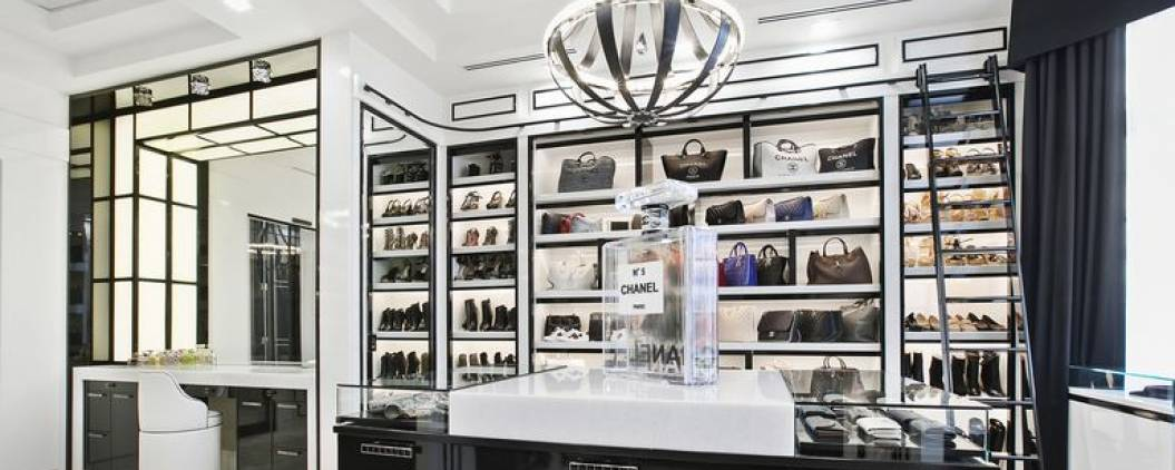 This $20 million home comes with a closet inspired by a Chanel boutique