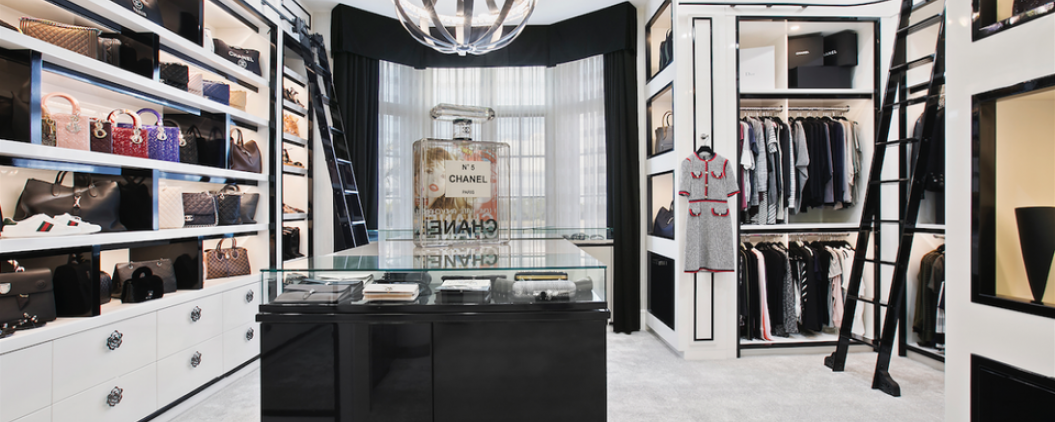 $20 Million Buys Estate With Chanel-Inspired Boutique For Her & Nike Air Jordan Fan Cave For Him