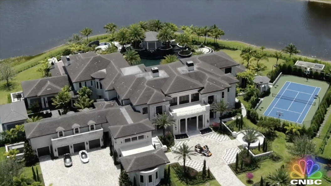 These 3 multimillion dollar megahomes hit the market in the middle of the pandemic—here's why